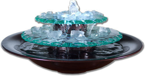 Moon Light Tabletop Fountain - Soothing Walls