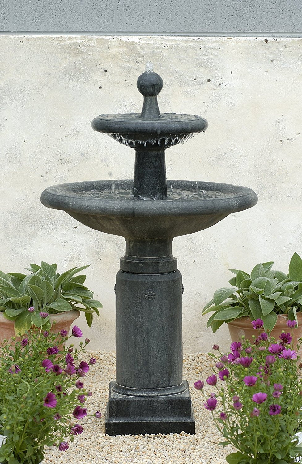 Natchez Garden Water Fountain - Soothing Walls