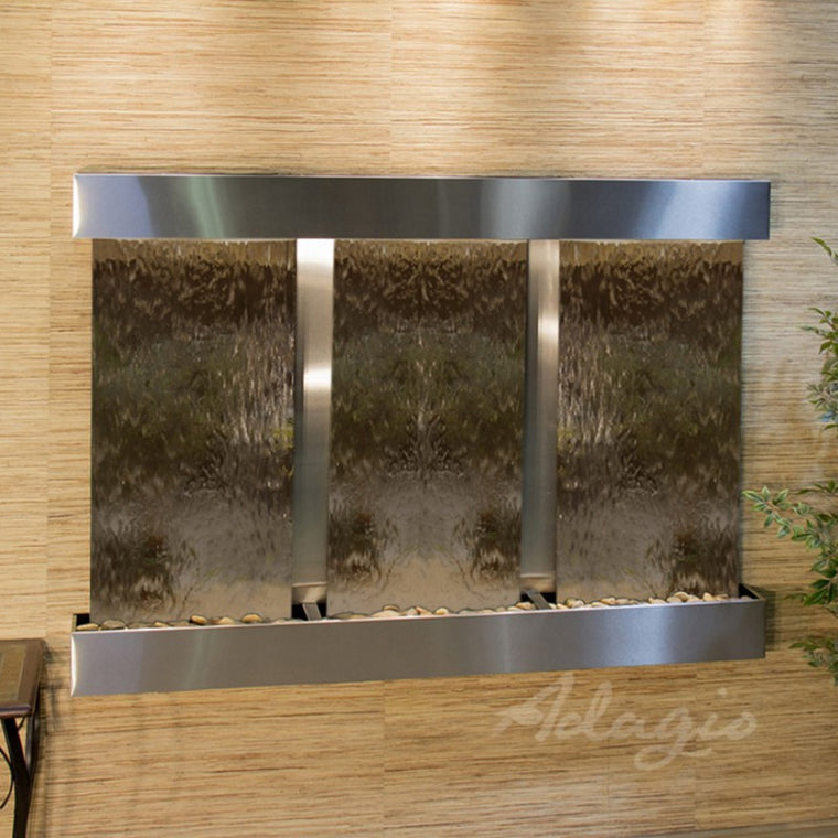 Olympus Falls - Bronze Mirror - Stainless Steel - Squared Corners - Soothing Walls