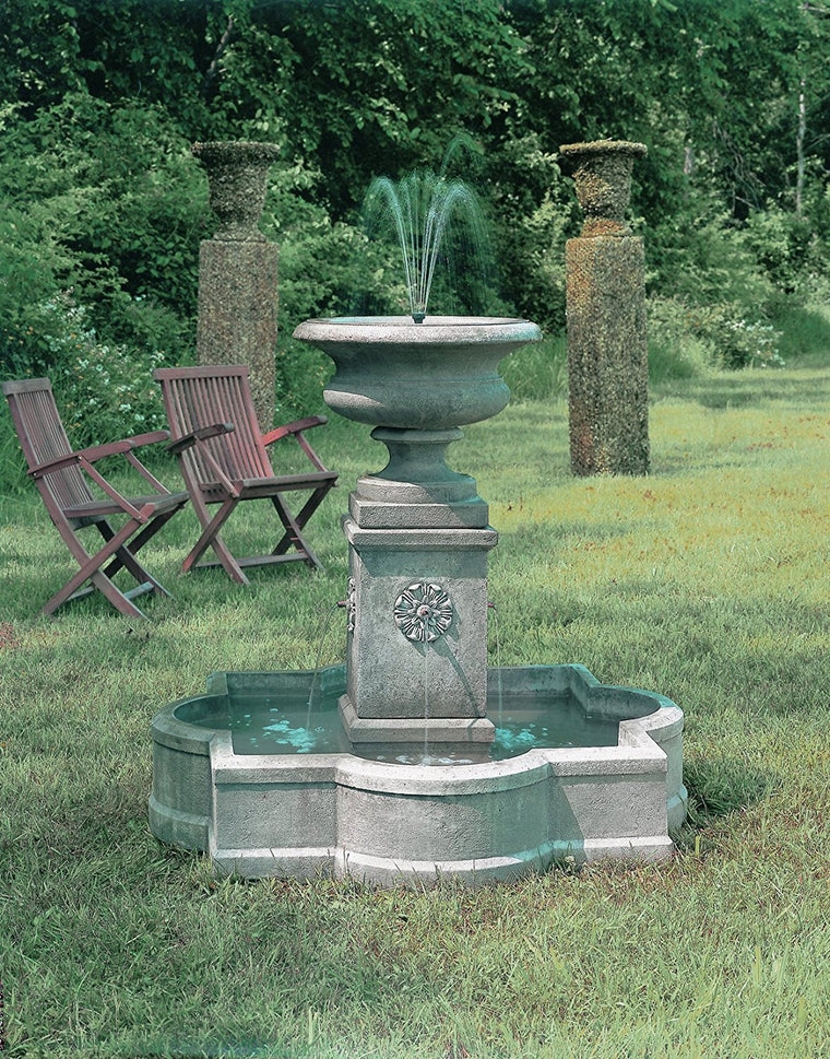 Palazzo Urn Garden Fountain - Soothing Walls