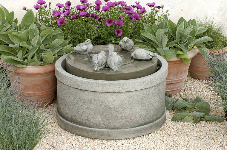 Passaros Garden Fountain - Soothing Walls