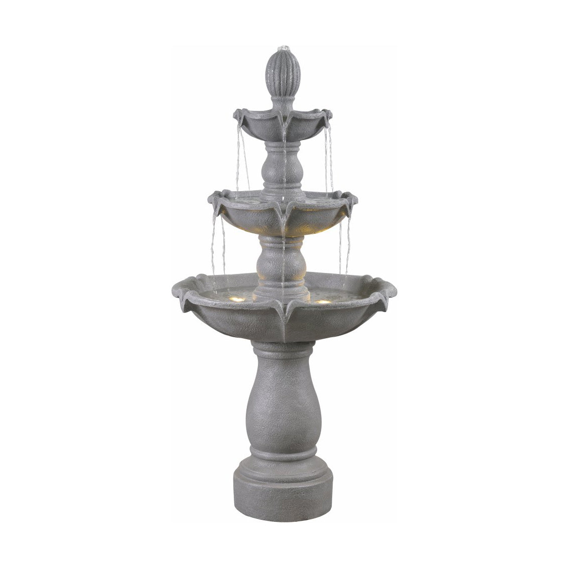 Plantation Outdoor Floor Fountain - Soothing Walls