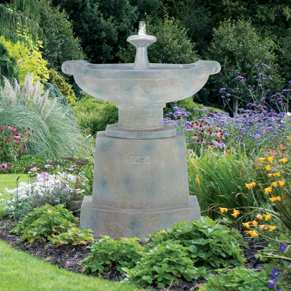 Prairie Urn Outdoor Fountain - Soothing Walls