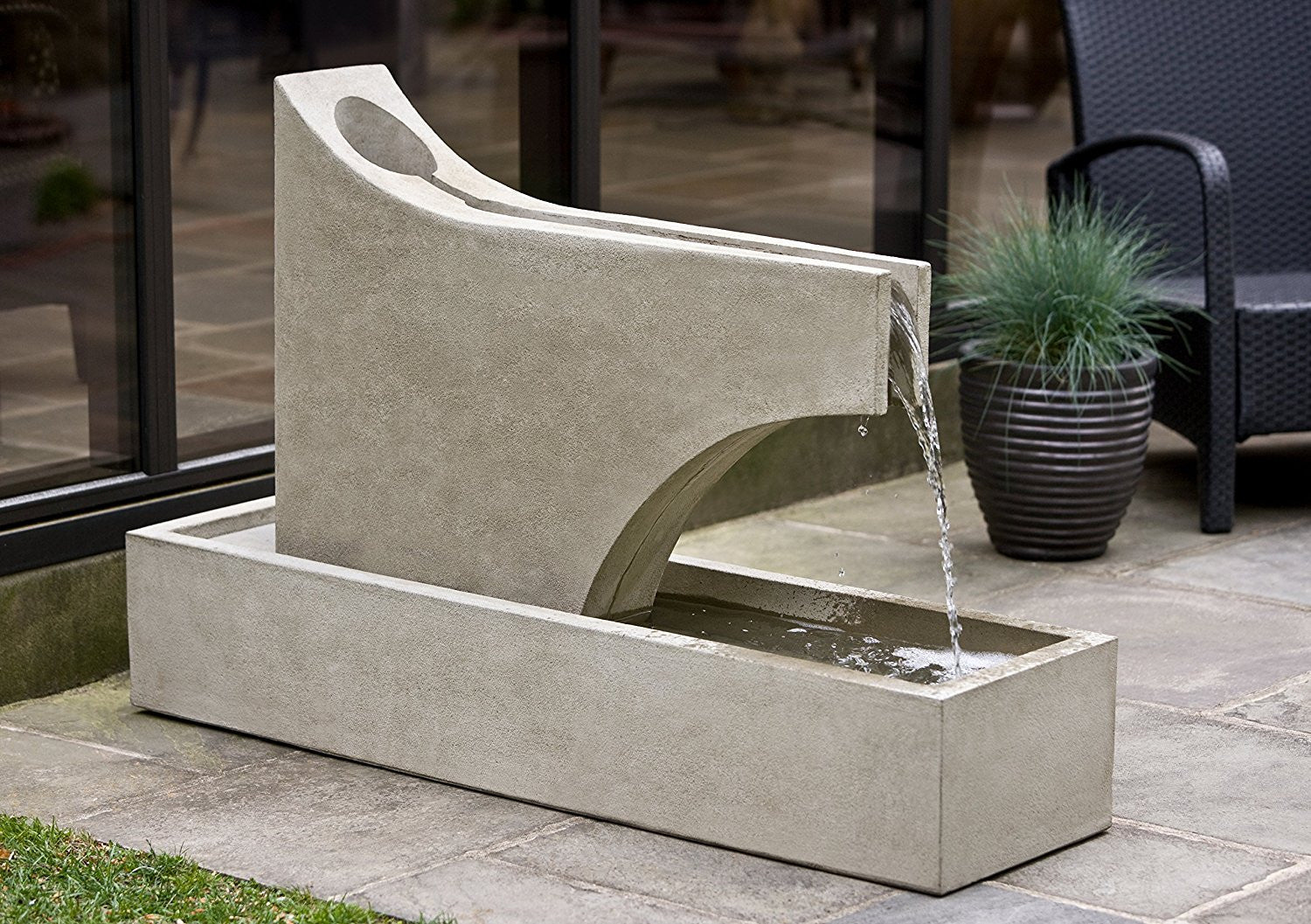 Precipice Garden Fountain - Soothing Walls