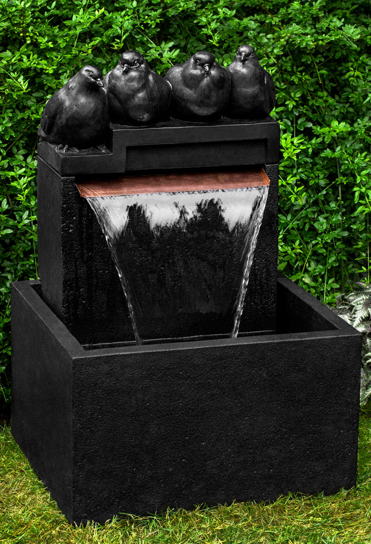 Quartet Garden Fountain -  Outdoor Fountains - Soothing Walls