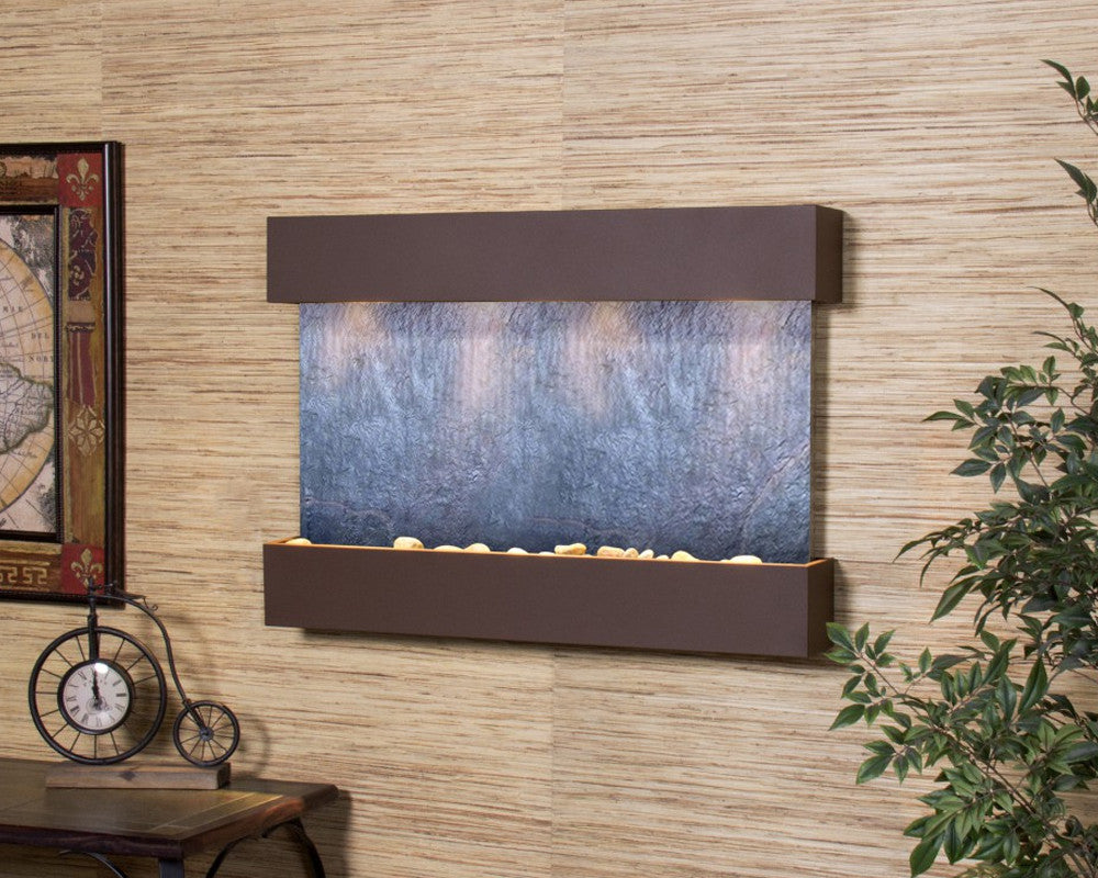 Reflection Creek: Black FeatherStone and Woodland Brown Trim