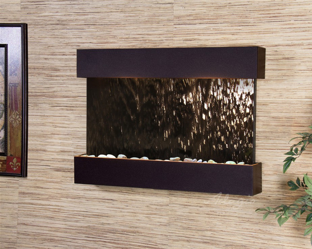 Reflection Creek: Bronze Mirror and Antique Bronze Trim