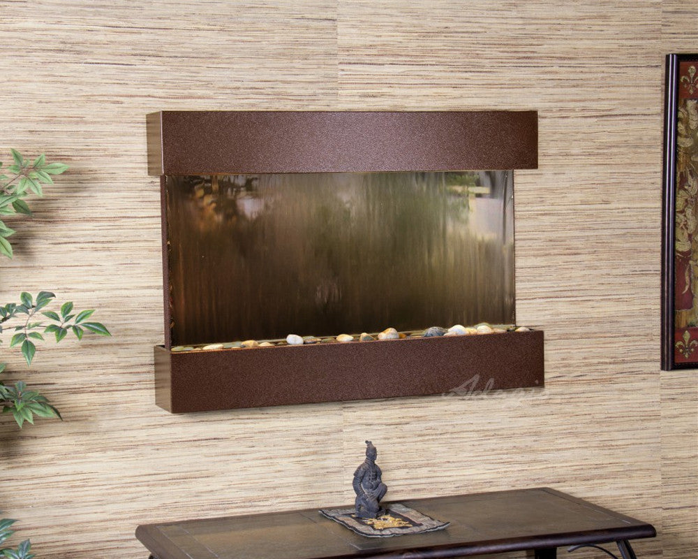 Reflection Creek: Bronze Mirror and Copper Vein Trim