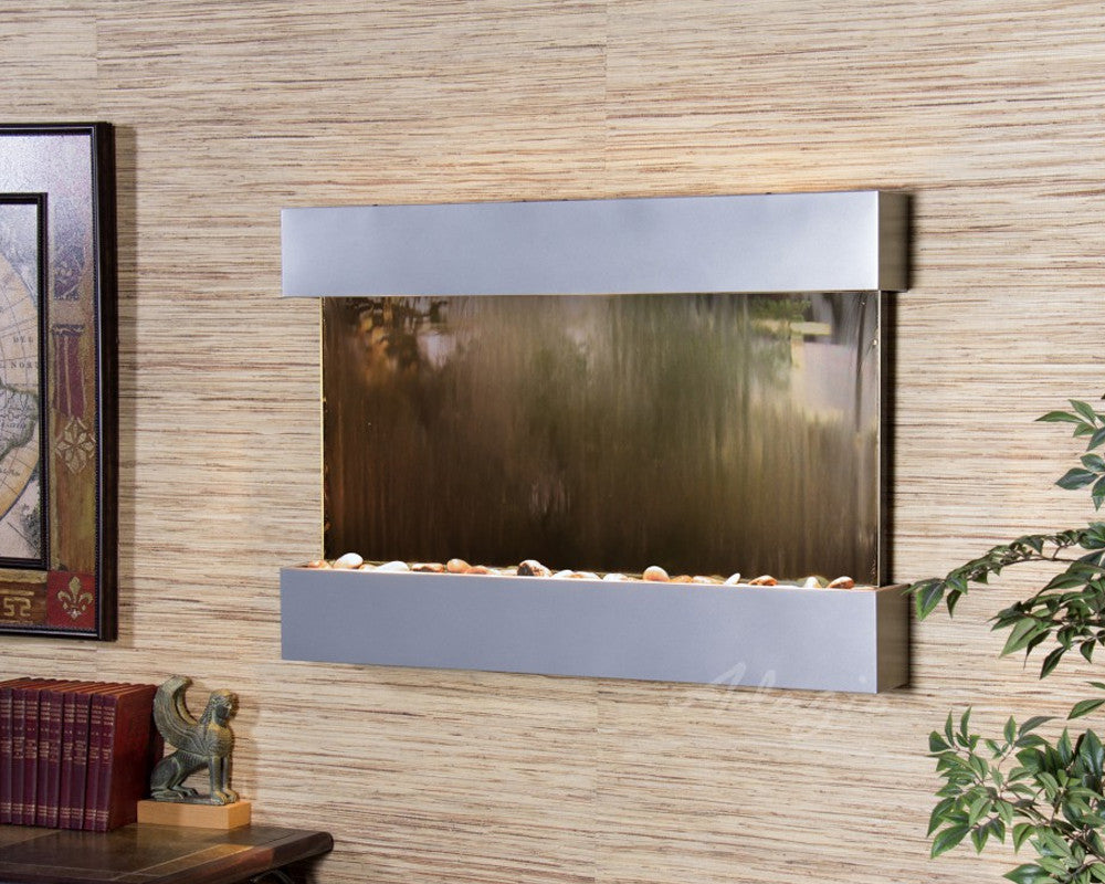 Reflection Creek: Bronze Mirror and Silver Metallic Trim