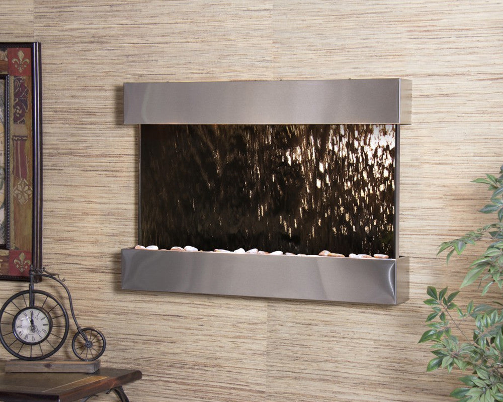 Reflection Creek - Bronze Mirror - Stainless Steel - Soothing Walls