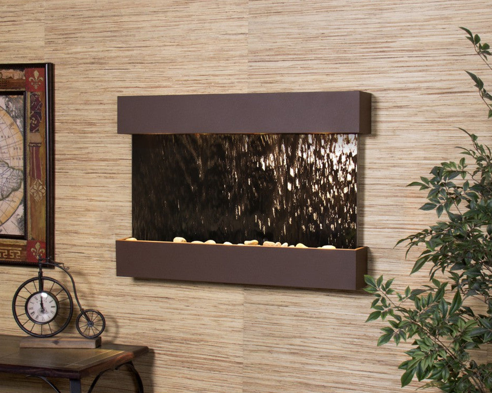 Reflection Creek - Bronze Mirror - Woodland Brown - Soothing Walls
