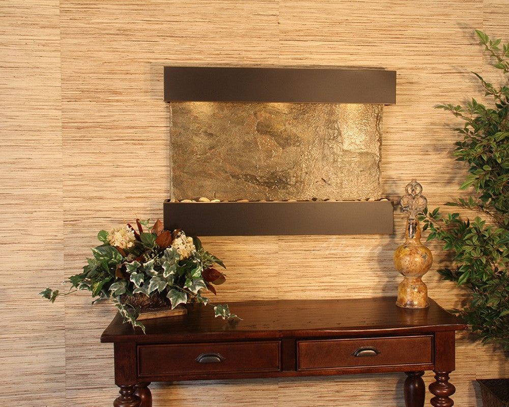Reflection Creek: Green Slate and Blackened Copper Trim