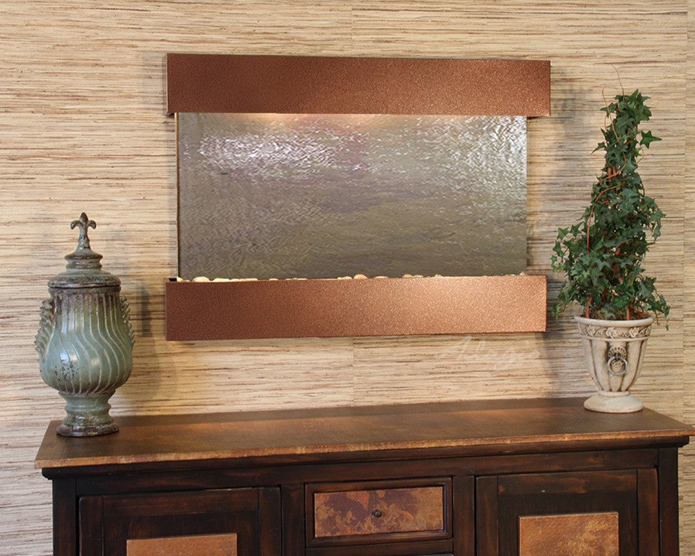 Reflection Creek - Multi-Color FeatherStone - Woodland Brown - Soothing Walls