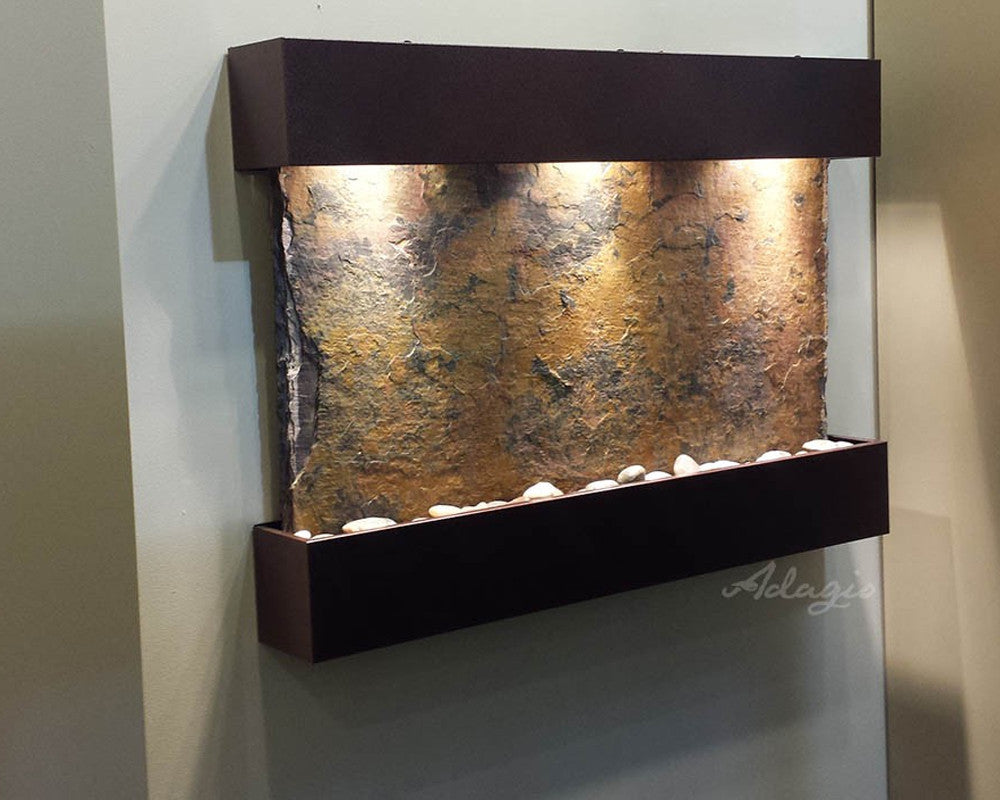 Reflection Creek - Multi-Color Slate - Copper Vein - Soothing Walls