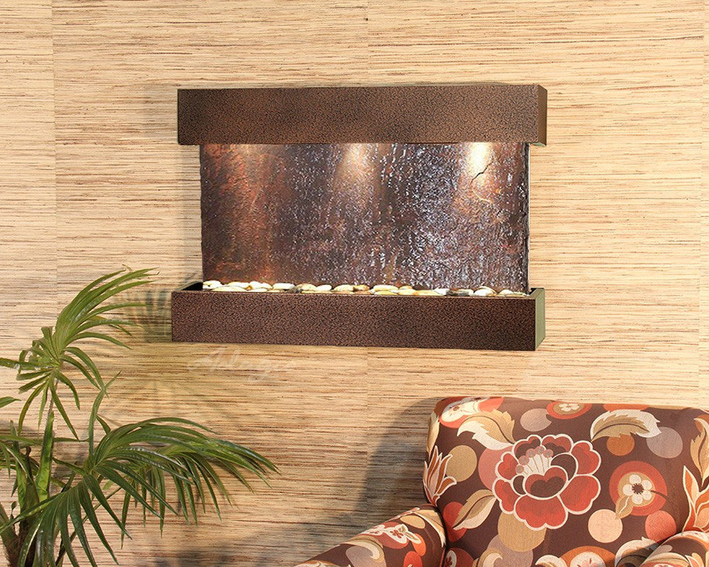 Reflection Creek: Multi-Color Slate and Copper Vein Trim
