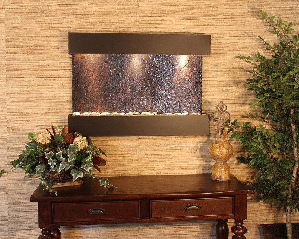 Reflection Creek: Multi-Color Slate and Woodland Brown Trim