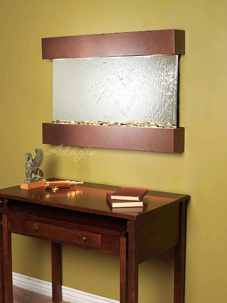 Reflection Creek - Silver Mirror - Copper Vein - Soothing Walls