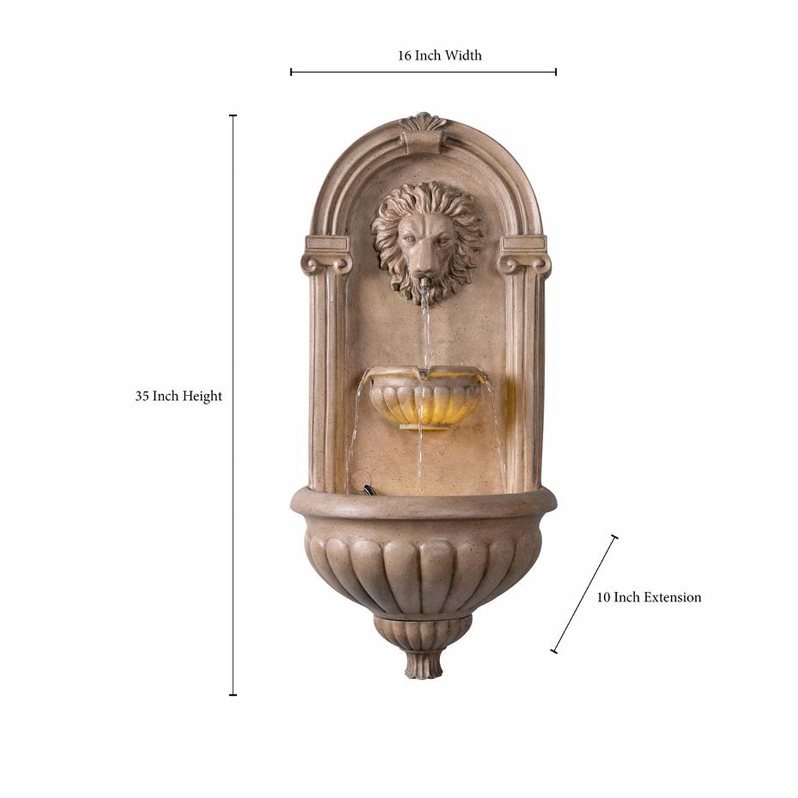 Royal Wall Fountain - Soothing Walls