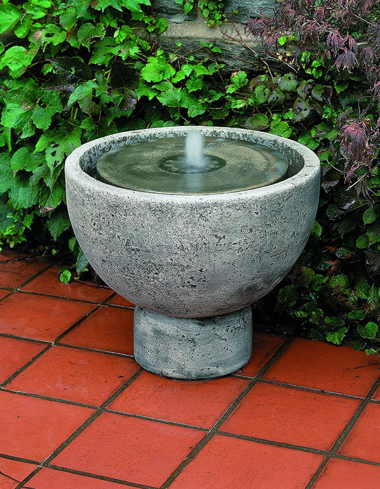 Rustica Pot Garden Fountain - Soothing Walls