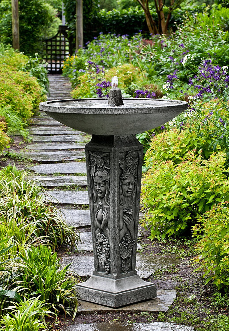 Garden outdoor fountains shop outdoor garden water features for Backyard fountains