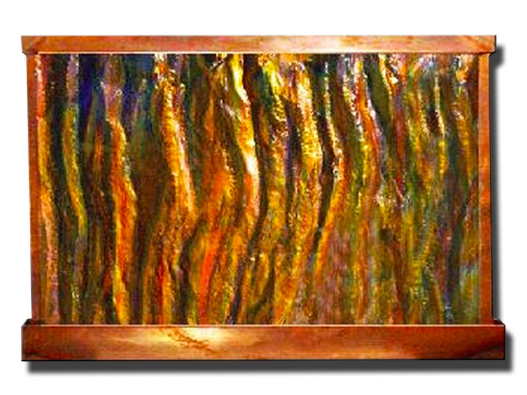 Sky's on Fire Horizontal Wall Fountain - Soothing Walls