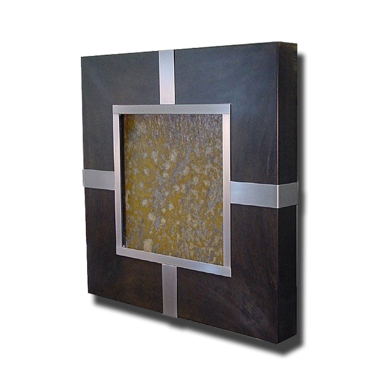 TD Prado Series Patina Wall Fountain with wraps - Soothing Walls