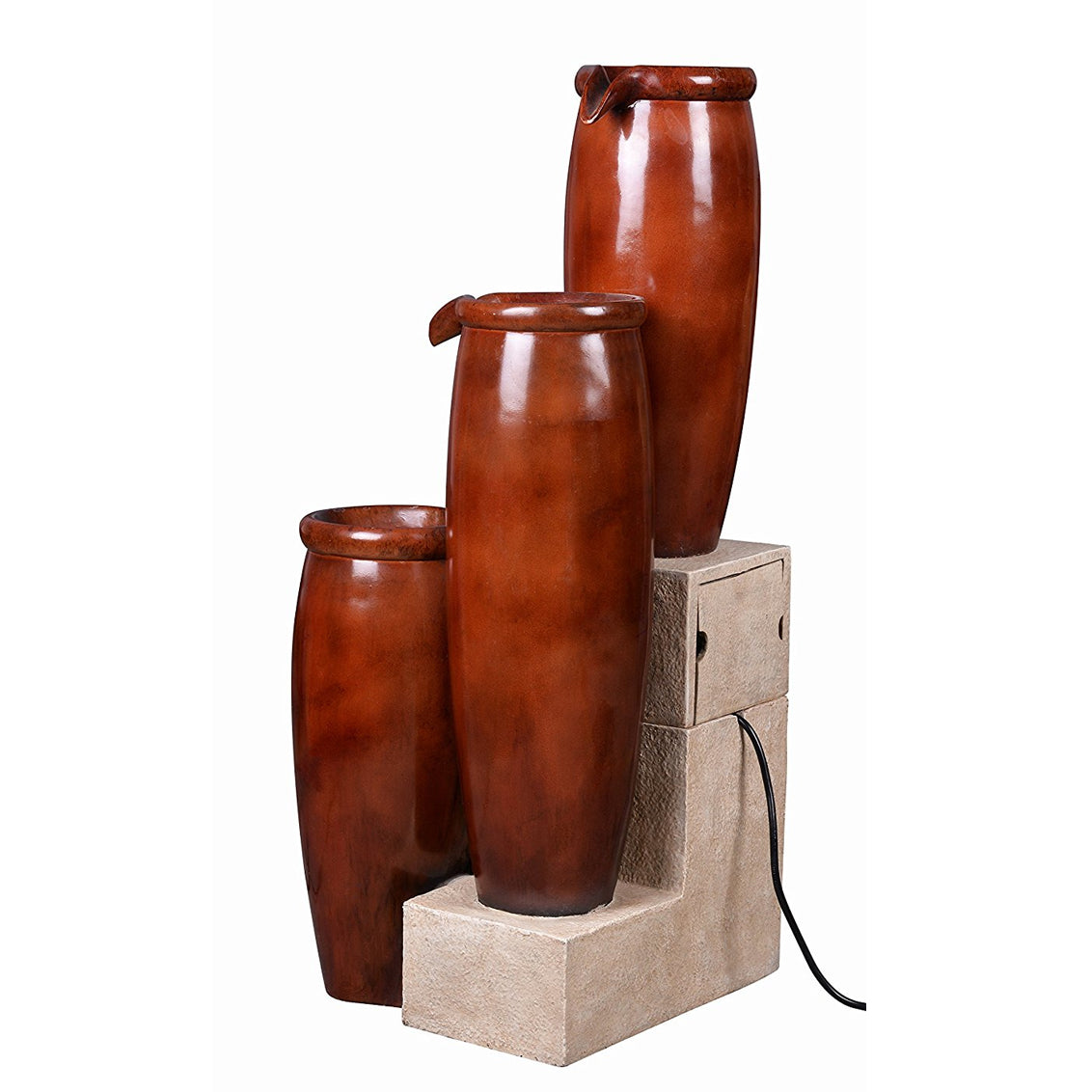 Vessel Indoor/Outdoor Floor Fountain - Soothing Walls