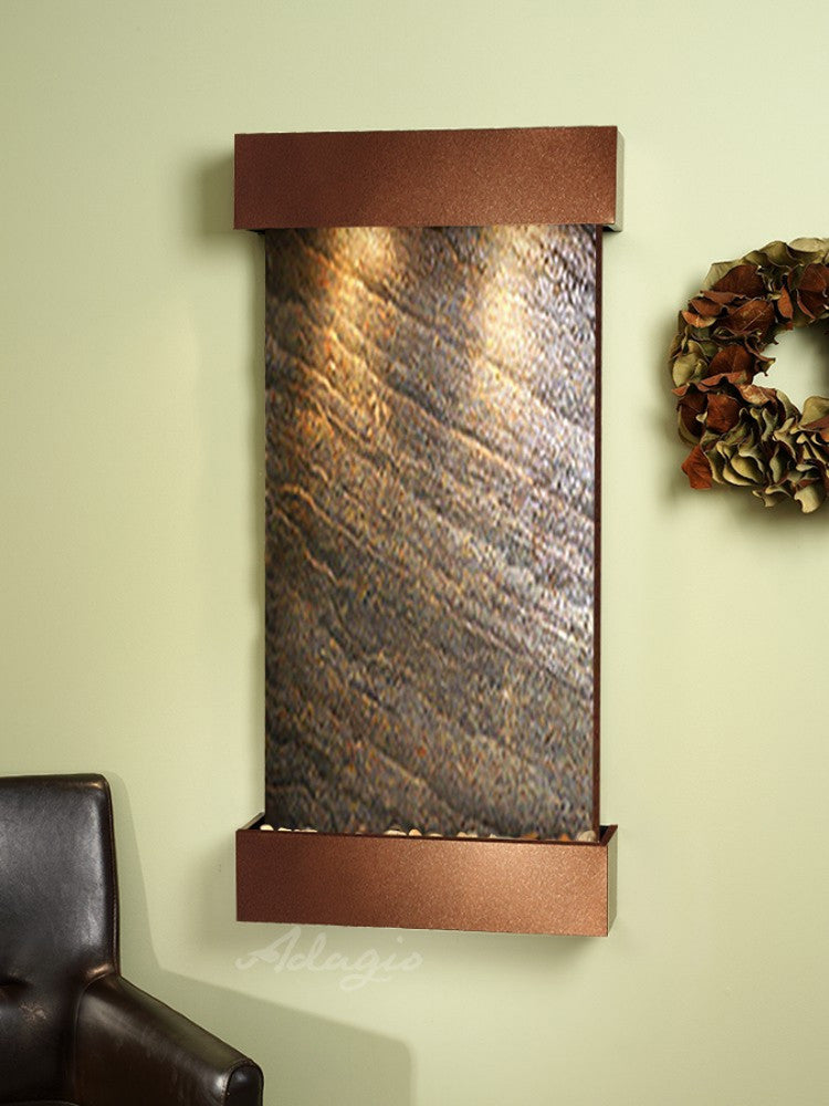Whispering Creek: Green FeatherStone and Woodland Brown Trim
