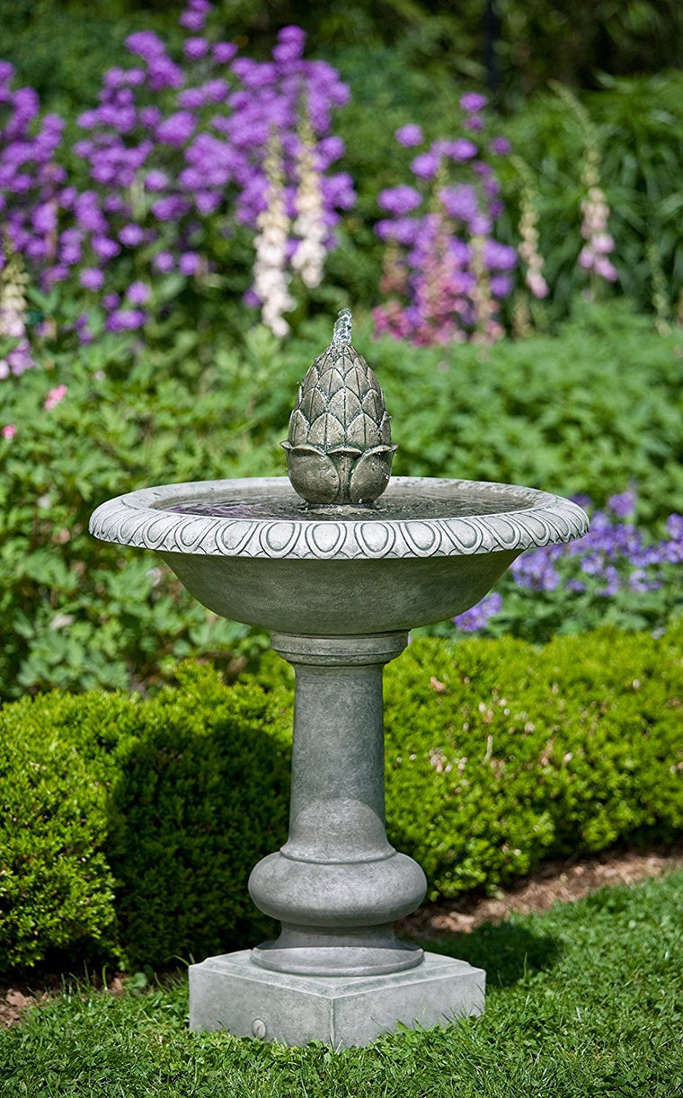 Williamsburg Pineapple Garden Fountain - Soothing Walls
