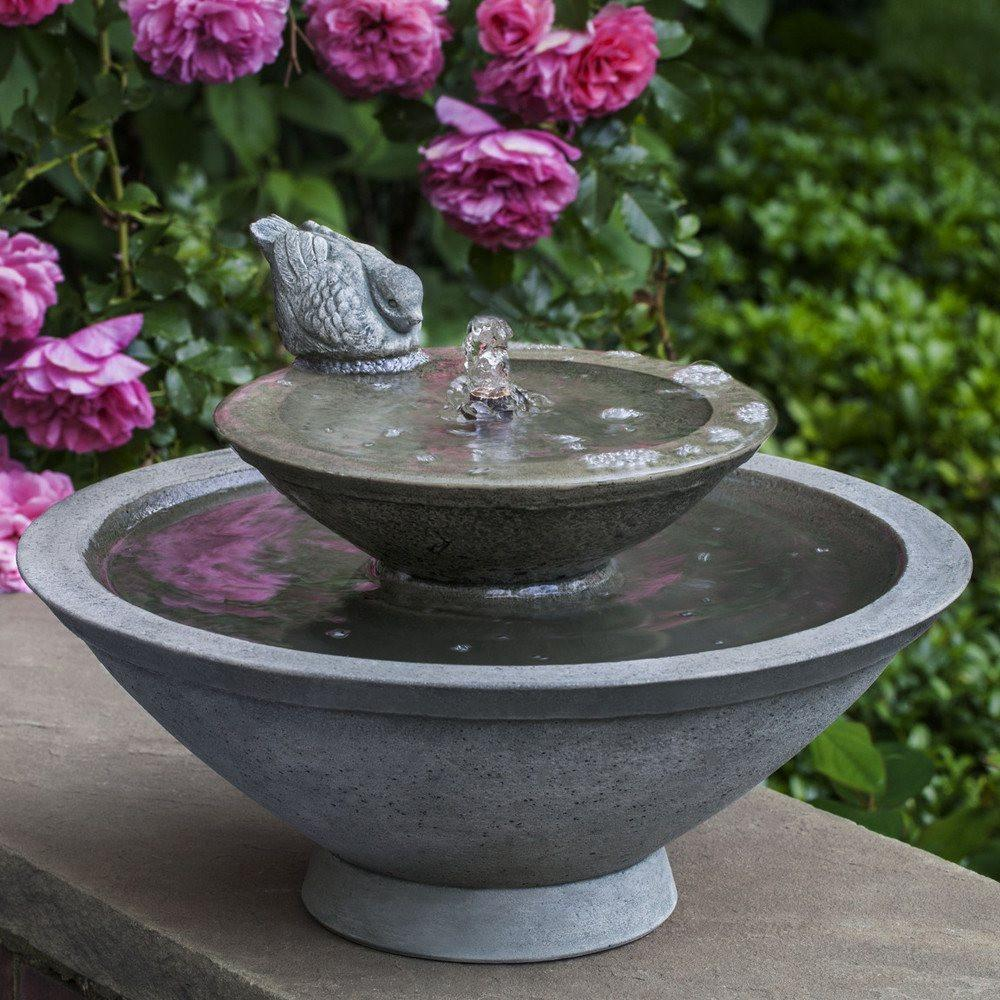 Wychwood Tiered Garden Fountain - Soothing Walls
