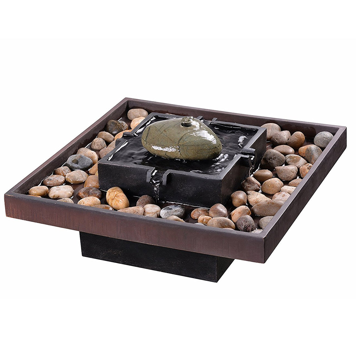 Zen Indoor Table Fountain - Soothing Walls