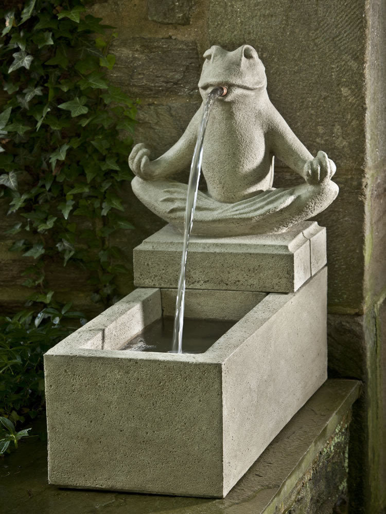 Zen Plinth Fountain - Soothing Walls