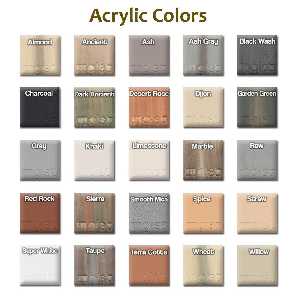 Acrylic Colors - Soothing Walls