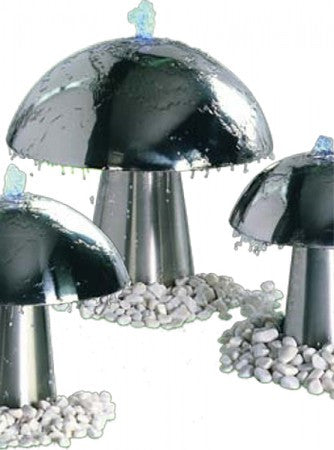 Aqua Mushroom Small Outdoor Water Fountain - SoothingWalls
