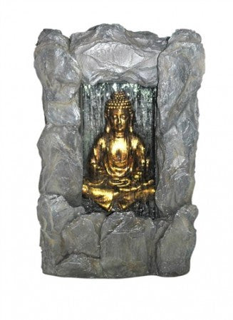 "31"" Rock Buddha Fountain - SoothingWalls"