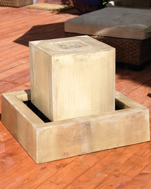 Block Outdoor Fountain - SoothingWalls