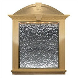 Keystone Trim Built-In Wall Fountain 3x6 Feet