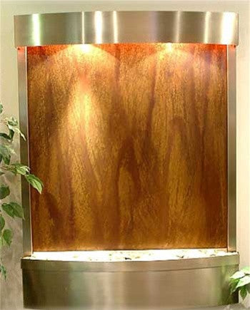 Copper Radius Wall Fountain