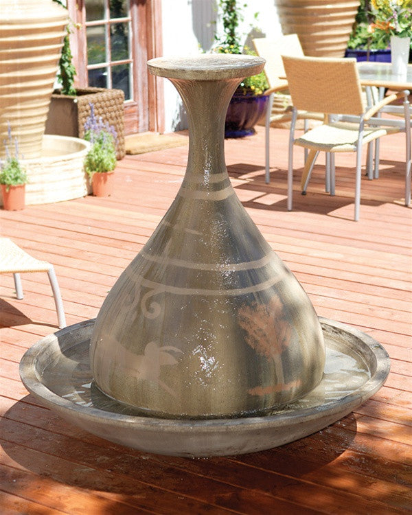 Genie Outdoor Fountain - Soothing Walls