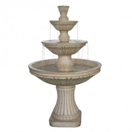"55"" Three Tier Water Fountain - SoothingWalls"