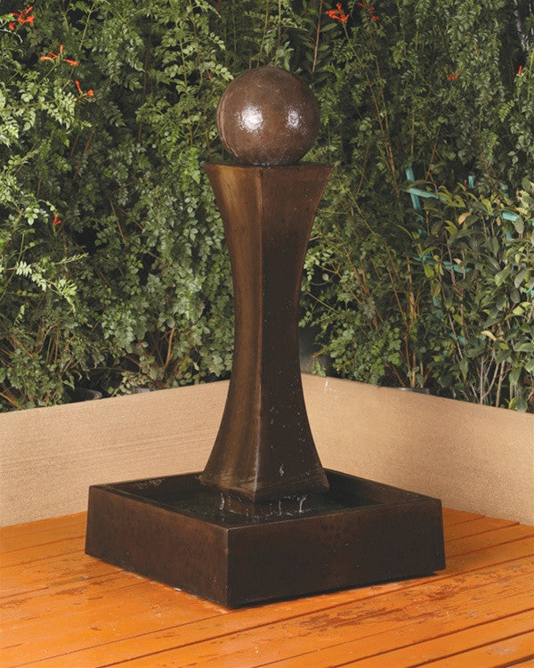 Mini I Ball Outdoor Fountain - Soothing Walls