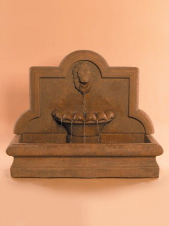 Large Lion Wall Fountain - Soothing Walls