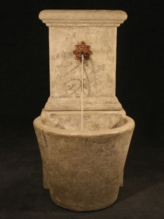 French Wall Fountain with Star - Soothing Walls