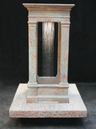 Old World Center Rain Fountain, Short - Soothing Walls