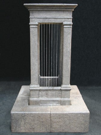 Old World Curtain Rain Fountain, Tall - Soothing Walls