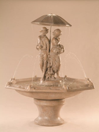 Springtime Fountain with Octagon Bowl - Soothing Walls