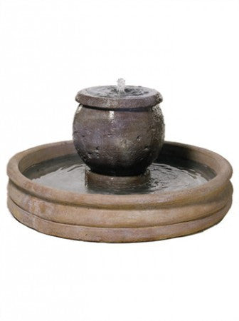 Small Mall Planter Fountain - Soothing Walls