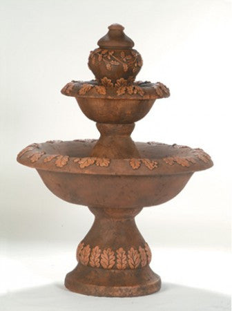 Oak Outdoor Water Fountain - Soothing Walls