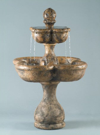 Old Dominica Tiered Fountain - Soothing Walls