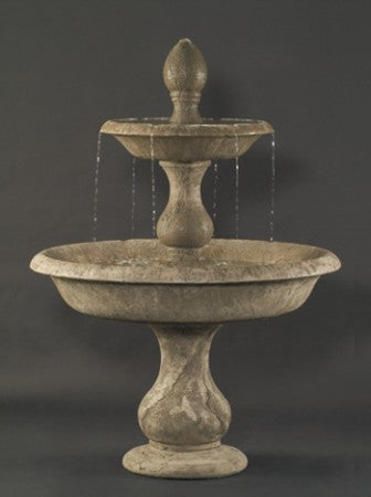 Old Toscano Outdoor Water Fountain - Soothing Walls
